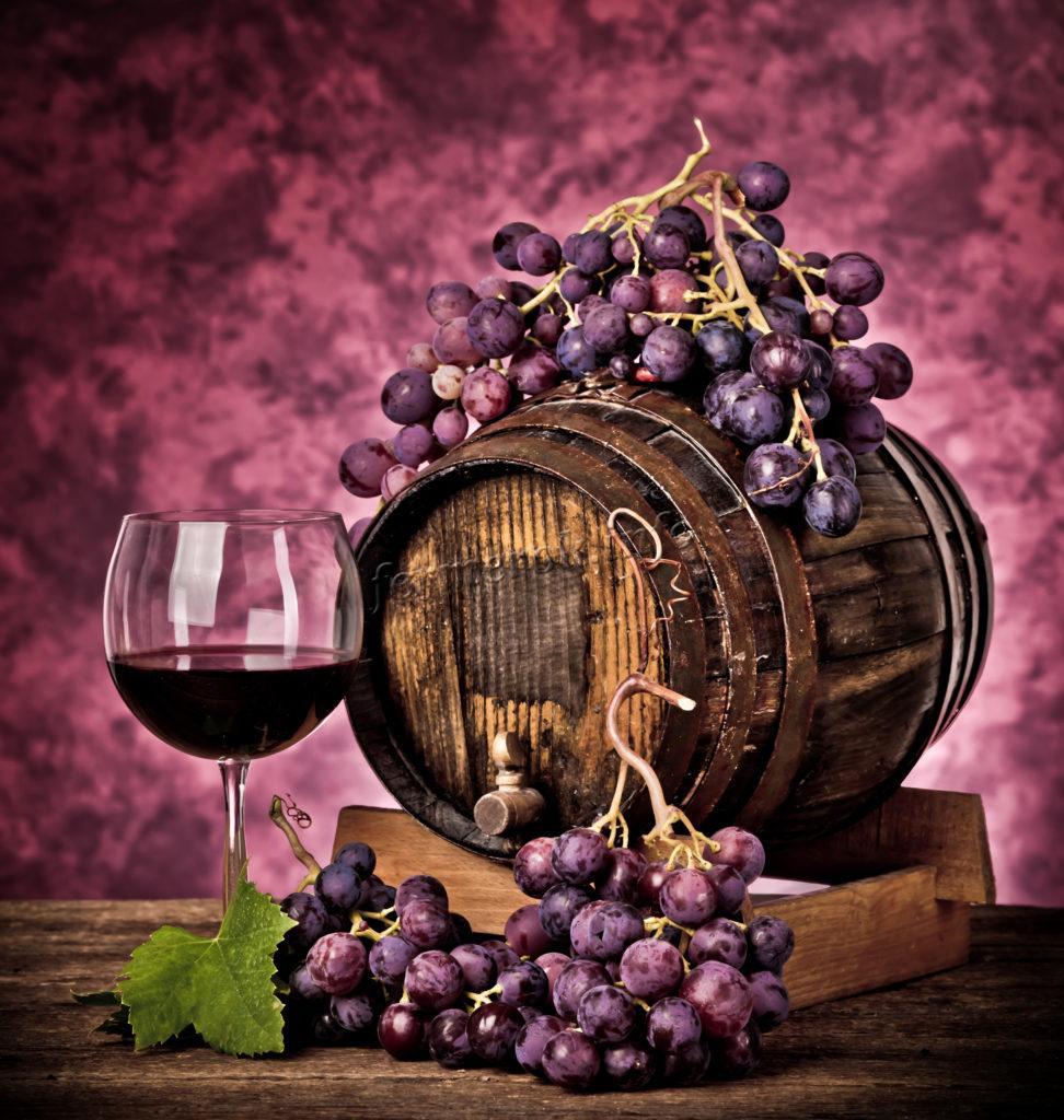 Красное вино из красных сортов винограда
