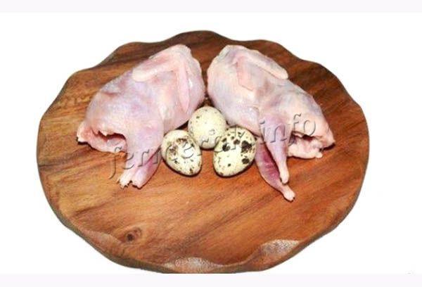 Перепелиное мясо рекомендуется при диетах и прописывается в лечебном питании