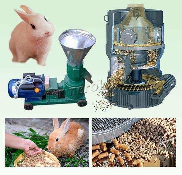 Изготовить комбикорм для кроликов своими руками без специальной техники практически невозможно