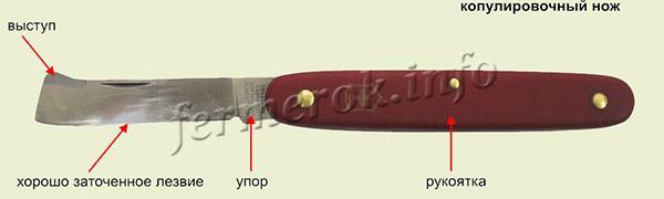 Копулировочный нож