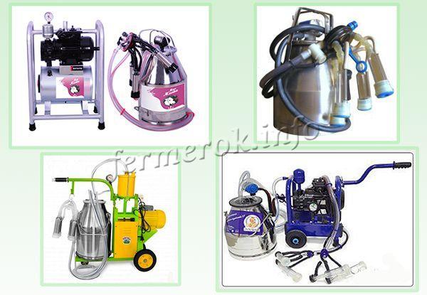 Разновидности доильных аппаратов
