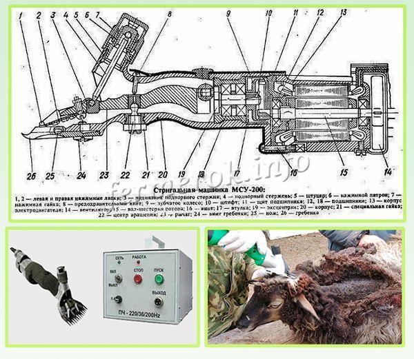 Схема машинки МСУ-200